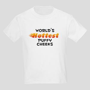 World's Hottest Puffy.. (B) Kids Light T-Shirt