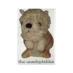 Unadoptables 2 Rectangle Magnet (100 pack)