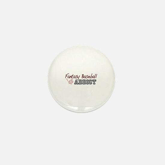 Fantasy Baseball Addict Mini Button