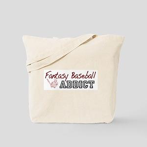 Fantasy Baseball Addict Tote Bag