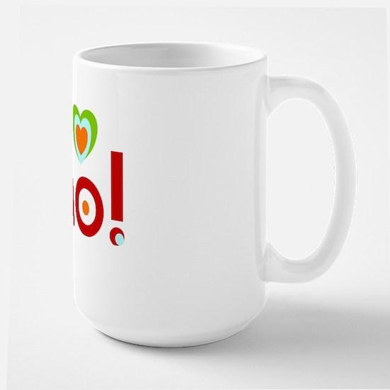 ni hao! Large Mug