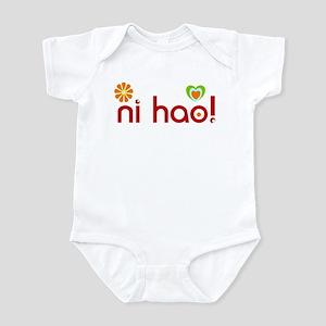 ni hao! Infant Bodysuit