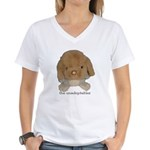 Unadoptables 3 Women's V-Neck T-Shirt