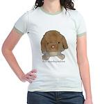 Unadoptables 3 Jr. Ringer T-Shirt