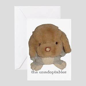 Unadoptables 3 Greeting Card