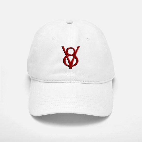 Red Chrome Baseball Baseball Cap