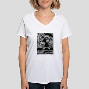 Burden - True Pilgrim Women's V-Neck T-Shirt