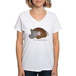 Unadoptables 4 Women's V-Neck T-Shirt