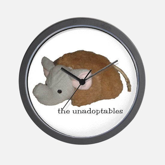Unadoptables 4 Wall Clock