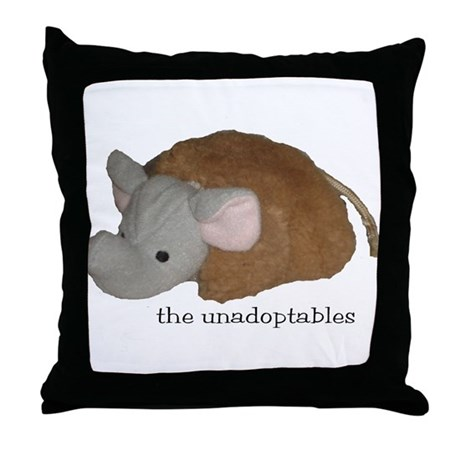 Unadoptables 4 Throw Pillow
