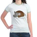 Unadoptables 4 Jr. Ringer T-Shirt