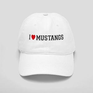 I Love Mustangs Cap