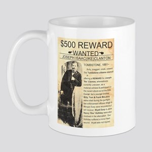 Wanted Ike Clanton Mug