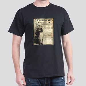Wanted Ike Clanton Dark T-Shirt