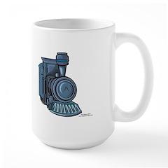 Railroad Mason Large Mug