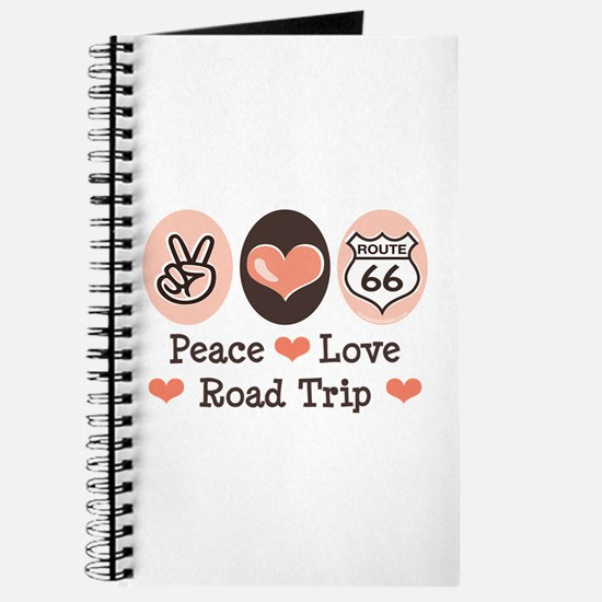 Peace Love Route 66 Road Trip Journal