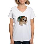 Unadoptables 5 Women's V-Neck T-Shirt