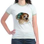 Unadoptables 5 Jr. Ringer T-Shirt