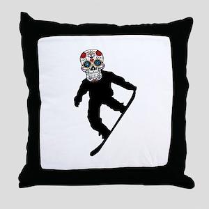 SUGAR BOARD Throw Pillow