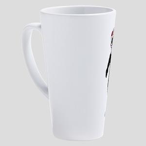 SUGAR BOARD 17 oz Latte Mug