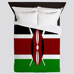 Flag of Kenya Queen Duvet