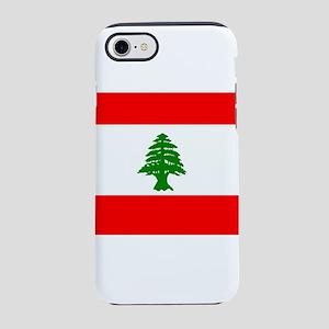 Flag of Lebanon iPhone 8/7 Tough Case