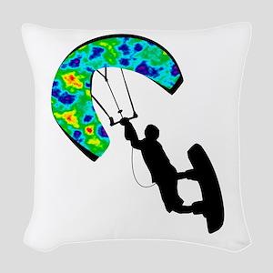THE POWER ZONE Woven Throw Pillow