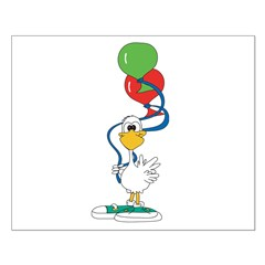 Balloon Duck Posters