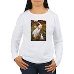 Windflowers / Ital Greyhound Women's Long Sleeve T
