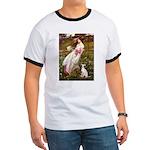 Windflowers / Ital Greyhound Ringer T