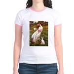 Windflowers / Ital Greyhound Jr. Ringer T-Shirt