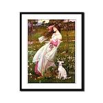 Windflowers / Ital Greyhound Framed Panel Print