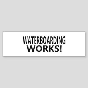 Waterboarding Works Bumper Sticker