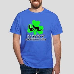 Funny Irish shamrock Dark T-Shirt