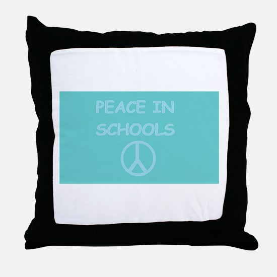 Cute Gun violence Throw Pillow