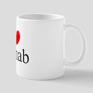 """""""I Love (Heart) Rehab"""" Mug"""
