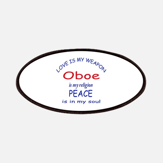 Oboe is my religion Patch