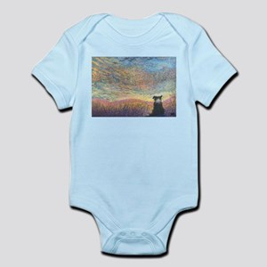 In the colour of evening Infant Bodysuit