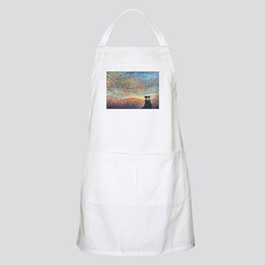 In the colour of evening BBQ Apron