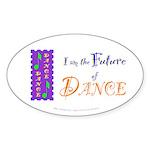 Future of Dance Kids Oval Sticker