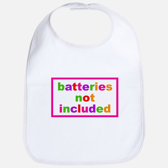 Batteries Not Included Bib