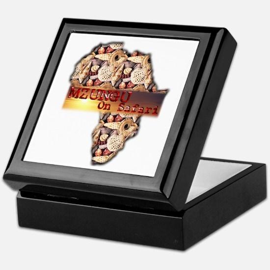 Mzungu On Safari - Keepsake Box