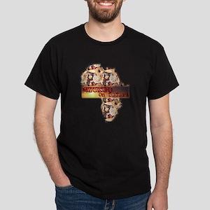Mzungu On Safari - Dark T-Shirt