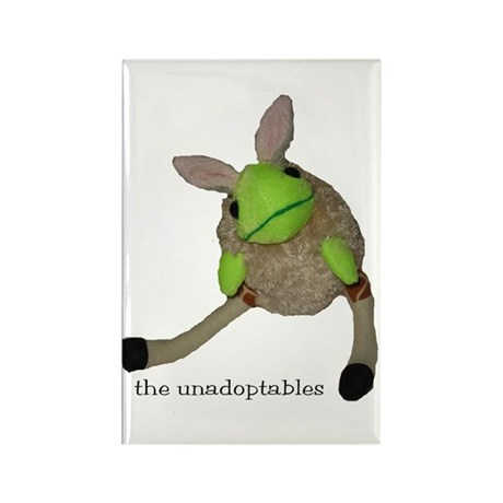 Unadoptables 6 Rectangle Magnet (100 pack)