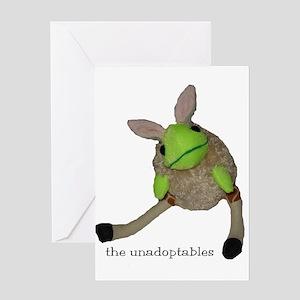 Unadoptables 6 Greeting Card