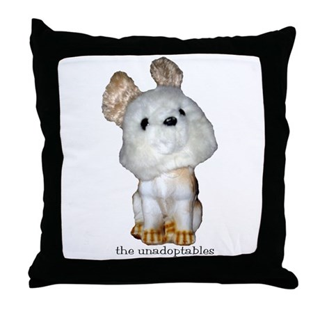 Unadoptables 7 Throw Pillow