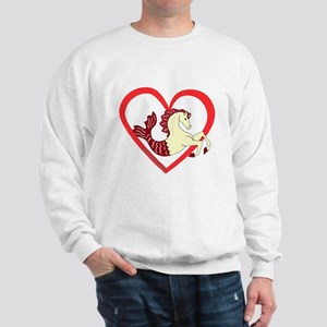 SeaHorse Heart Sweatshirt