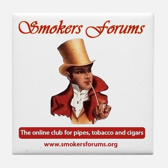 Smokers Forums Tile Coaster