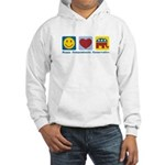 Happy Compassionate Conservative Hooded Sweatshirt