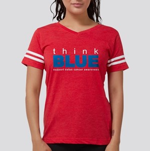 think BLUE Women's Dark T-Shirt